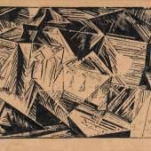 "388   Lyonel Feininger ""Zirchow VII, No. 1"". 1918. Schätzpreis: 4.500 - 5.000 €"