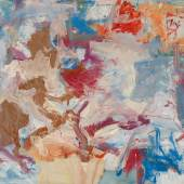 Willem de Kooning Untitled X Oil on canvas 77 by 88 in. Executed in 1975 Estimate $8/12 million