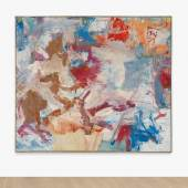 Lot 25 The Gerald L. Lennard Foundation Collection Willem De Kooning Untitled X oil on canvas 77 by 88 in. 195.6 by 232.5 cm. Executed in 1975. Estimate $8/12 million