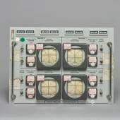 10096 Lot 105 - Apollo Firing Room Control Panels - S-IC Engine Deflection (1 of 20 panels)