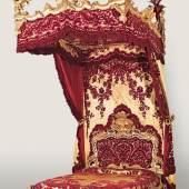 Barockes Bett aus aristokratischem Besitz in der Toskana, Auktion 13. 10. 2010, € 100.000 - 150.000