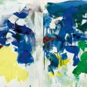 10150 Lot 153 - Joan Mitchell, Saint Martin la Garenne No. IX