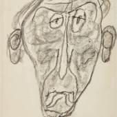 10150, Lot 211, Jean Dubuffet, Portrait of Jules Supervielle