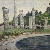Emily Carr's Skedans A Rare Masterpiece of Canadian Modernism   Estimate $3/5 Million *Leading a Group of Works from Across the Americas*