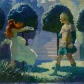 10151 Lot 7, N.C. Wyeth, Ogier and Morgana