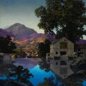 10151 Maxfield Parrish, Mill Pond