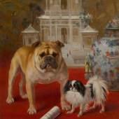 Frances C. Fairman The Boxer Rebellion 1902 Estimate $10/15,000 Sold for $50,000