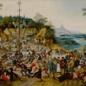 10308 Lot 12 - Pieter Brueghel the Younger, St. George's Kermis with the Dance Around the Maypole