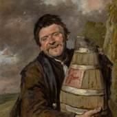 10309 Lot 191 - Frans Hals and Studio, Portrait of a Fisherman Holding a Beer Keg