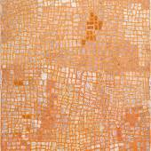 Marrapinti Naata Nungurrayi 2002 Synthetic polymer paint on linen 72 in by 48 in (183 cm by 122 cm) Estimate $80/120,000