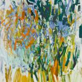 Joan Mitchell  Straw 1976 Signed; titled on the stretcher Oil on canvas 103 ¼ x 77 ¾ inches Estimate $5/7 million
