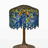"""A Dazzling """"Wisteria"""" Table Lamp Leads a Selection of Works By Tiffany Studios, Bringing $715,000"""