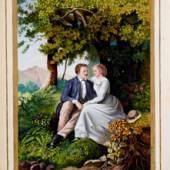 Lot 103: Album Amicorum - Aus Liebe meiner Treuen Netti von Carl Hoofacker