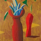 10429 Lot 36 - David Hockney, Two Red Pots