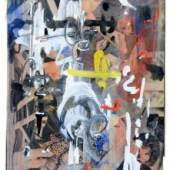901   Emilio Vedova, Ohne Titel. 1956. 7.000-8.000 €