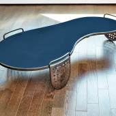 "A Rare ""Flaque"" Coffee Table by Jean Royère (estimate $150/200,000)"