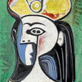10572 Lot 7 - Pablo Picasso, Buste De Femme Assise