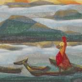 10645, Jehangir Sabavala, Lone Vigil