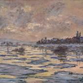 Claude Monet's La Seine à Lavacourt, Débâcle Estimate $6/8 Million