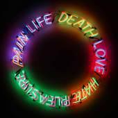 10682, Bruce Nauman, Life, Death, Love, Hate, Pleasure, Pain