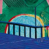 10682, David Hockney, Self-Portrait on the Terrace