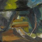 Ivon Hitchens DISUSED LOCK Estimate   25,000 — 35,000  GBP  LOT SOLD. 68,750 GBP