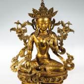 942 - GRÜNE TARA China/Tibet, 20. Jahrhundert Katalogpreis: 300 - 400 €