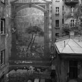 Wandbild im Hinterhof der Esmarchstraße 27, 1987