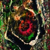 Joseph Lacasse, Cosmos – Tachiste, 1935 Öl auf Papier auf Leinwand, 27 × 22 cm Courtesy of Whitford Fine Art © beim Künstler oder seinen Rechtsnachfolgern