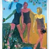 Martial Raysse Ciné, 1964 Kunststoffblume, Neonröhre und versch. Materialien, montiert auf kolorierte Fotografie auf Leinwand 197 x 131 x 30,5 cm mumok museum moderner kunst stiftung ludwig wien Foto: mumok © VBK Wien, 2012