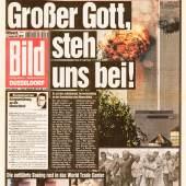 Bild-Zeitung, 12.09.2001 (c) Sammlung Deutsches Zeitungsmuseum (Stiftung Saarländischer Kulturbesitz)