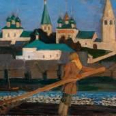 Boris Mihailovich Kustodiev, An der Wolga, € 350.000 - 500.000