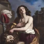 Giovanni Francesco Barbieri, gen. il Guercino, und Werkstatt, David mit dem Haupt des Goliath, erzielter Preis € 421.300