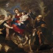 Valerio Castello, Die Flucht nach Ägypten, erzielter Preis 490.300