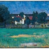 Alexej Jawlensky, Wasserburger Landschaft, erzielter Preis € 593.800, Fotonachweis: Dorotheum