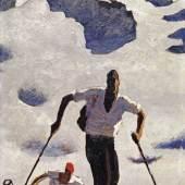 Alfons Walde, Der Aufstieg, erzielter Preis 582.300
