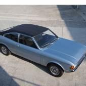 Ford Consul Coupé, 1973, Schätzwert € 6.000 - 8.000, Rufpreis € 2.000