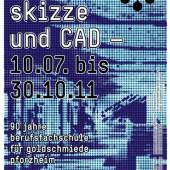 hammer, skizzen und CAD, Plakat, Schmuckmuseum Pforzheim