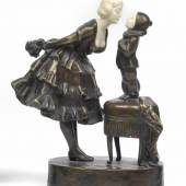 Peter Tereszczuk (1875-1963), Pierrot mit Herzensdame, Schätzwert € 2.000 - 3.000  © Dorotheum