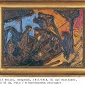 Adolf Hölzel, Gespräch, 1917/1918