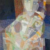 """Erika Giovanna Klien """"Kopf einer Tänzerin"""", 1923, Öl auf Leinwand, 70 x 60 cm, € 70.000 – 100.000"""