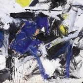 "Emilio Vedova ""Ciclo 61-N8"", 1961, Öl, Collage auf Leinwena, 146,5 x 200 cm"