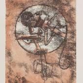 Lot: 147   Klee, Paul  Der Verliebte, 1923.  Schätzpreis: 16.000 EUR / 20.800 $