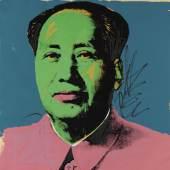 Lot: 895   Warhol, Andy  Mao, 1972.  Schätzpreis: 20.000 EUR / 26.200 $