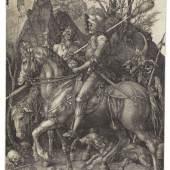 € 47.500* Aufruf: € 28.000 Nr. 12: Albrecht Dürer – Der Reiter (Ritter, Tod und Teufel)