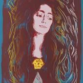 Lot: 776   Warhol, Andy  Eva Mudocci, 1984.  Schätzpreis: 90.000 EUR / 117.900 $