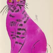Lot: 907   Warhol, Andy  25 Cats name13 Sam and one Blue Pussy, 1954.  Schätzpreis: 90.000 EUR / 117.900 $