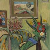 115001319 Gabriele Münter Helles Stillleben, 1910. Schätzpreis: € 140.000