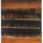 116002570 Heinz Mack Ohne Titel, 1962. Öl Schätzpreis: € 200.000 +