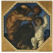 47 FRANZ VON STUCK Faun und Bacchusknabe, 1905. Öl auf Leinwand Schätzpreis: € 100.000 - 150.000